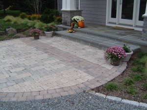 Custom patio from FA Hobson