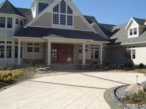 Custom Driveway from F.A. Hobson