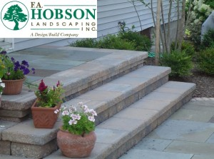 F.A. Hobson Steps - Attractive and Durable.