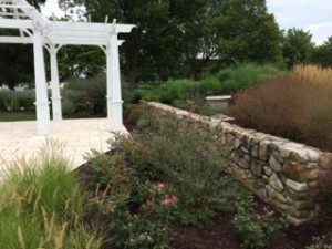 Add elegance to your property with a stone wall