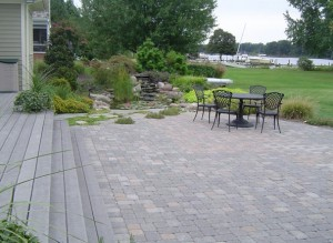 Paver Patio from FA Hobson