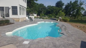 F.A. Hobson Delmarva Pool Patio