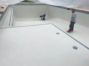 Another custom pool completed!