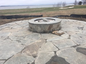 Fire Pit with elements